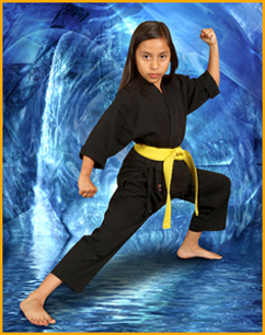 childrens kids karate